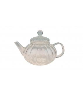 Glass Teapot Squash Shaped...